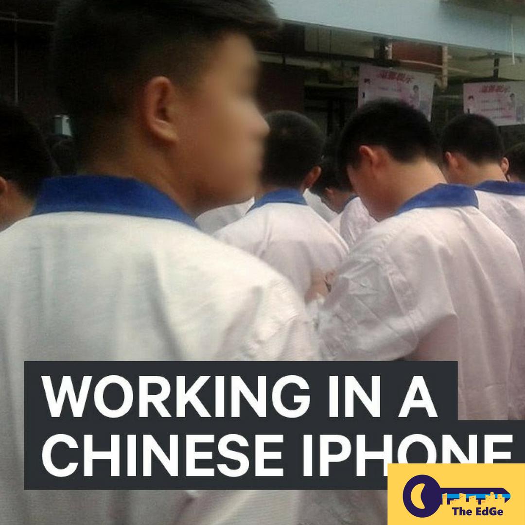 Orang Ini Bekerja Diam-Diam di Pabrik iPhone di Cina - JualGudang