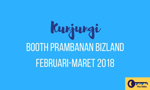Booth Prambanan Bizland Februari Maret 2018 - JualGudang