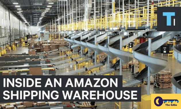Cyber Monday di Amazon California Fulfillment Center - JualGudang