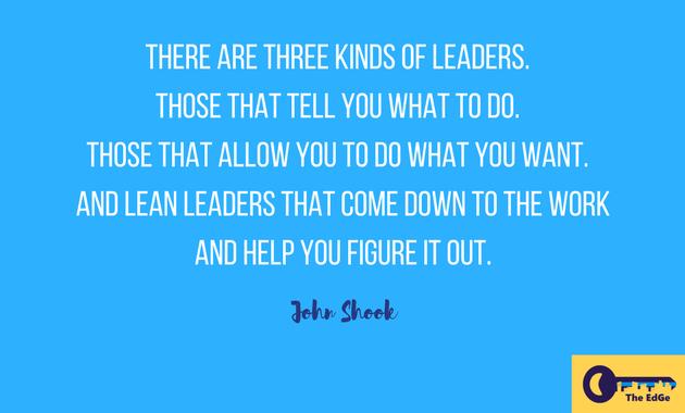 Apa Kata John Shook Tentang Pemimpin - JualGudang