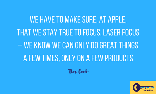 Apa Kata Tim Cook Tentang Fokus - JualGudang