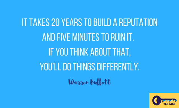 Apa Kata Warren Buffett Tentang Reputasi - JualGudang-01