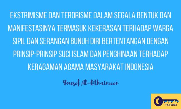 Apa Kata Yousef Al-Othaimeen Tentang Aksi Bom di Surabaya - JualGudang