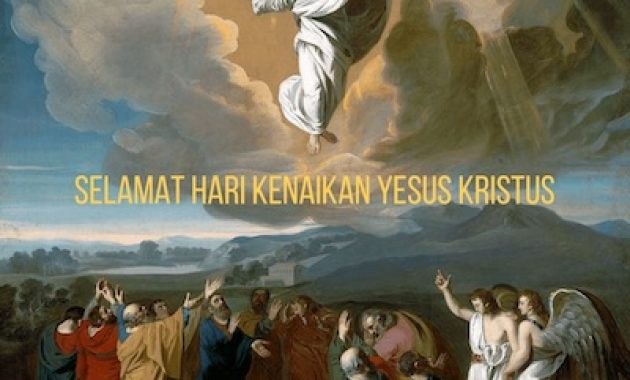 Selamat Hari Kenaikan Yesus Kristus - JualGudang