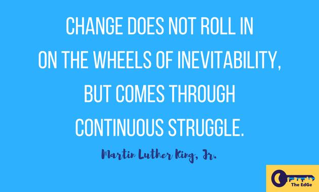 Apa Kata Martin Luther King Jr Tentang Perubahan - JualGudang