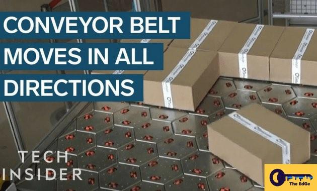 Conveyor Belt Menggerakkan Paket ke Segala Arah - JualGudang