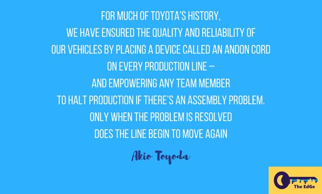 Apa Kata Akio Toyoda Tentang Masalah Perakitan di Gudang - JualGudang