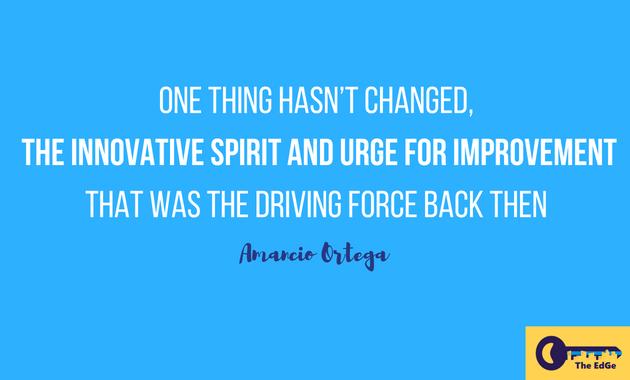 Apa Kata Amancio Ortega Tentang Inovasi - JualGudang