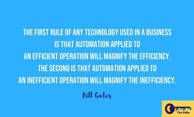 Apa Kata Bill Gates Tentang Otomatisasi Bisnis - JualGudang