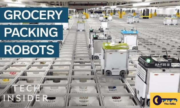 Bagaimana Rasanya Berada di Dalam Gudang Penuh Robot - JualGudang