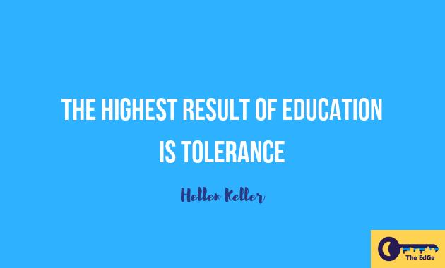 Apa Kata Hellen Keller Tentang Toleransi - JualGudang