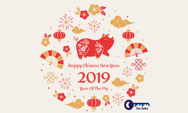 Happy Chinese New Year 2019 - The EdGe - JualGudang