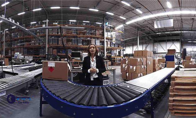 Tur Virtual Gudang UPS Yang Bersertifikat GDP GMP - JualGudang