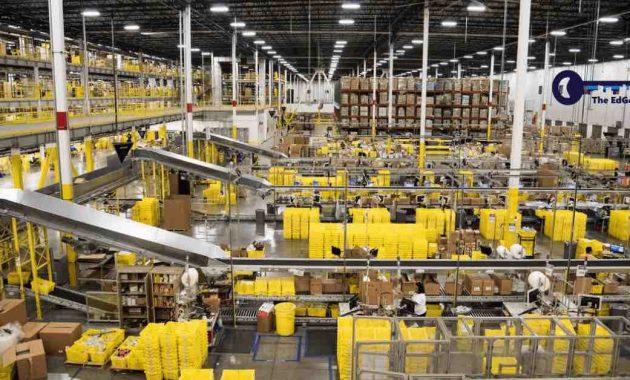 Pasti Kagum Melihat Gambar Penyatuan Jaringan Distribusi Amazon di Amerika Serikat - JualGudang