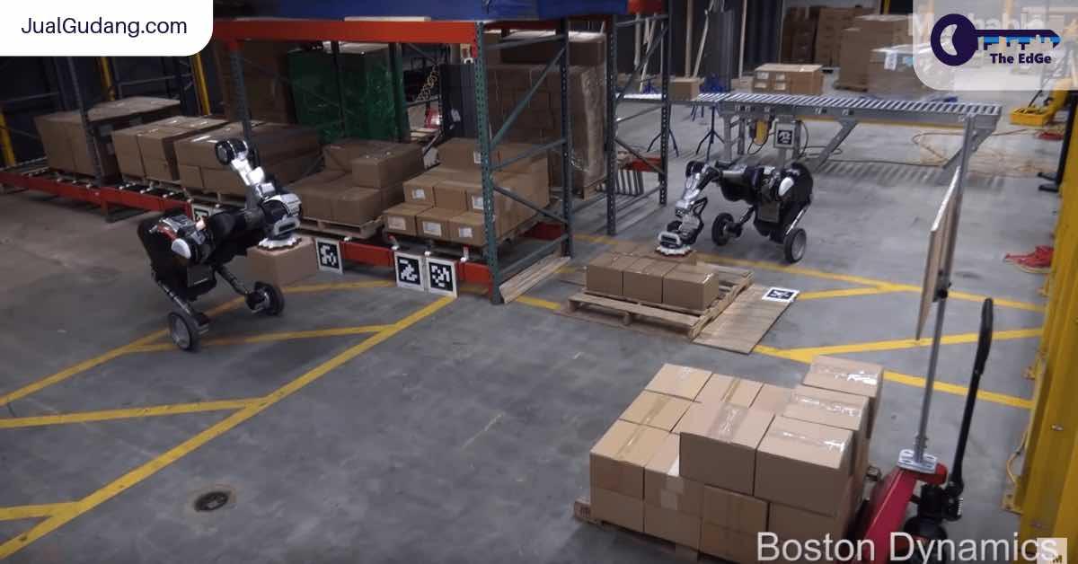 Robot Ini Sekarang Jadi Pekerja Gudang - JualGudang