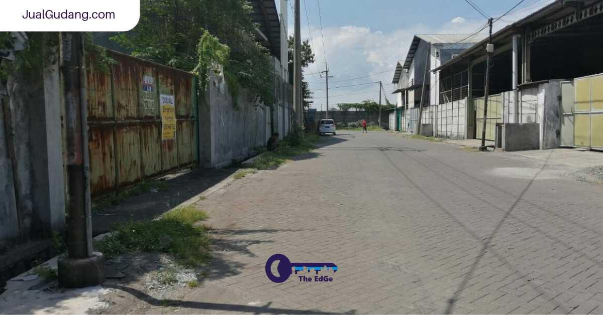 Pergudangan Osowilangun Permai Benowo Surabaya - JualGudang (1)