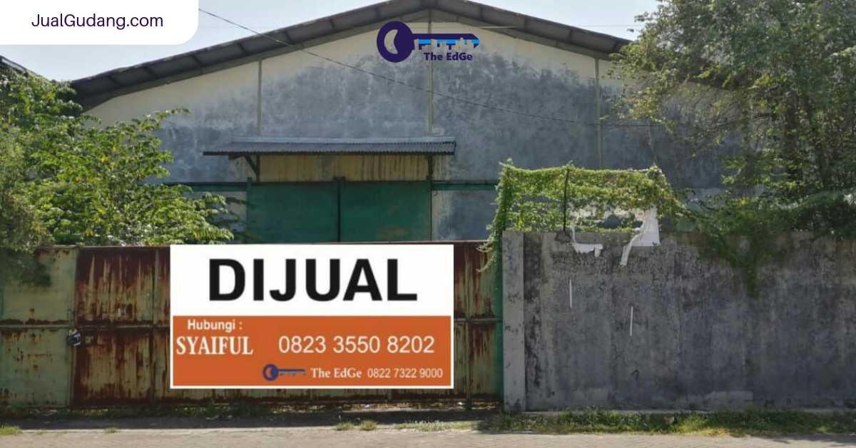 Pergudangan Osowilangun Permai Benowo Surabaya - JualGudang