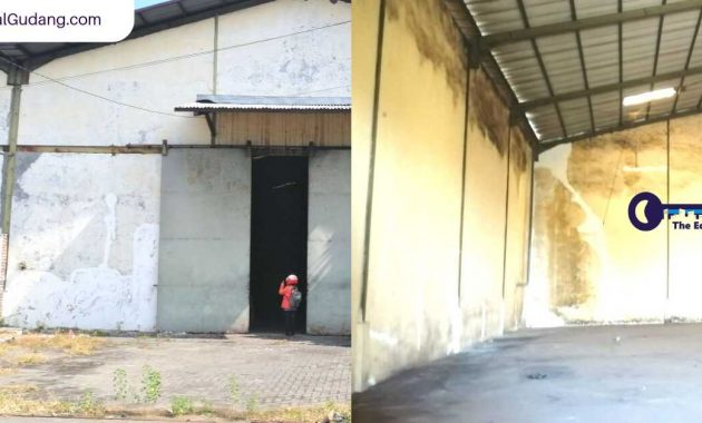 Jual_Sewa Gudang Siap Pakai Pergudangan Osowilangun Permai Halaman Private Surabaya - JualGudang