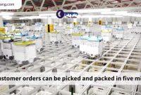 Intip Gudang Berisi Ribuan Robot Mengemas Bahan Makanan - JualGudang
