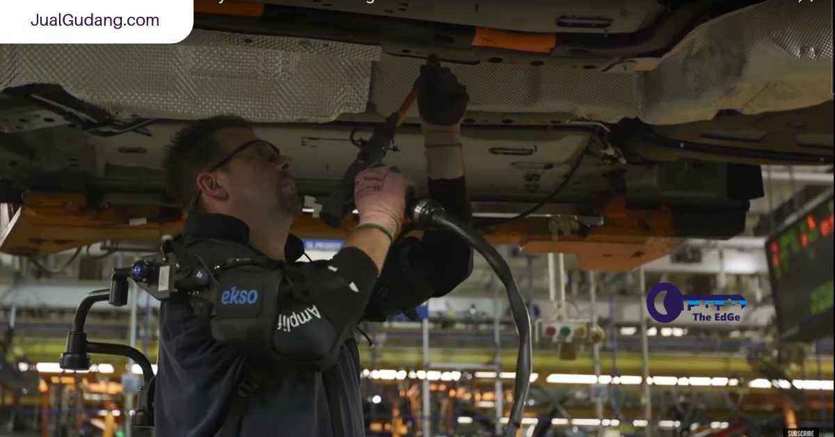 Coba Pakai Alat Yang Dipakai Pekerja Gudang di Ford - JualGudang