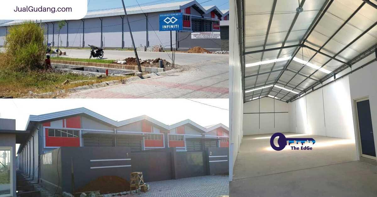 Sewa 2 Unit Jejer Gudang Central Industrial Park Sidoarjo - JualGudang