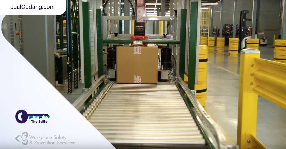 Seri Tips Keselamatan Kerja di Gudang 6_ Keamanan Conveyor - JualGudang