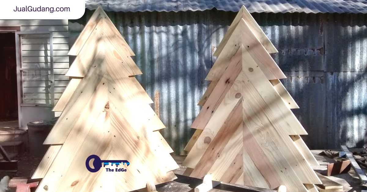 Bikin Sendiri Pohon Natal Dari Palet - JualGudang