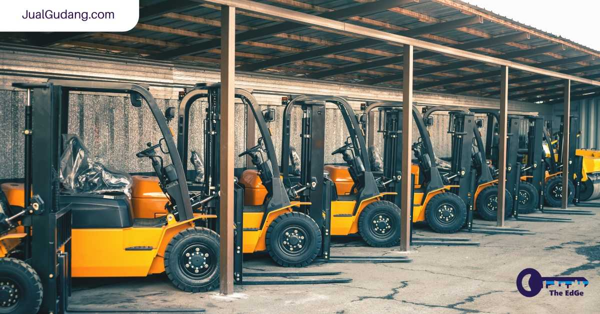 Forklift Menyebabkan Seluruh Gudang Ini Runtuh - JualGudang