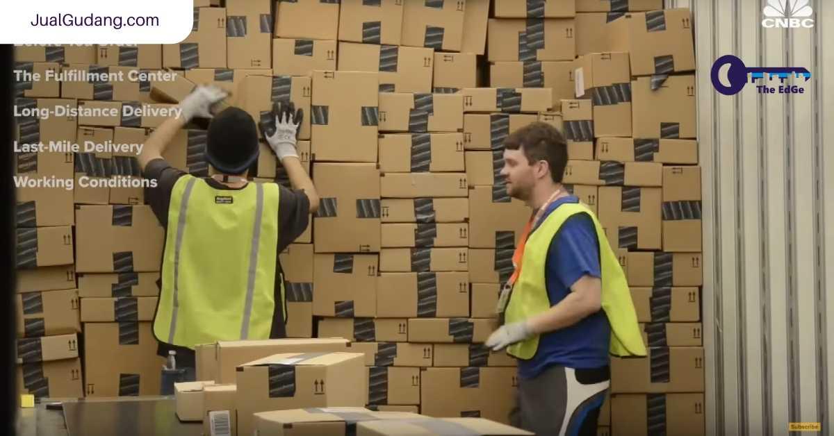 Ini Cara Amazon Mengirim Paket Satu Hari Tiba - JualGudang