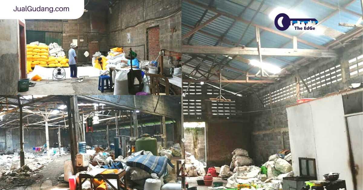 Jual Gudang Raya Kendung Surabaya Hitung Tanah Saja - JualGudang