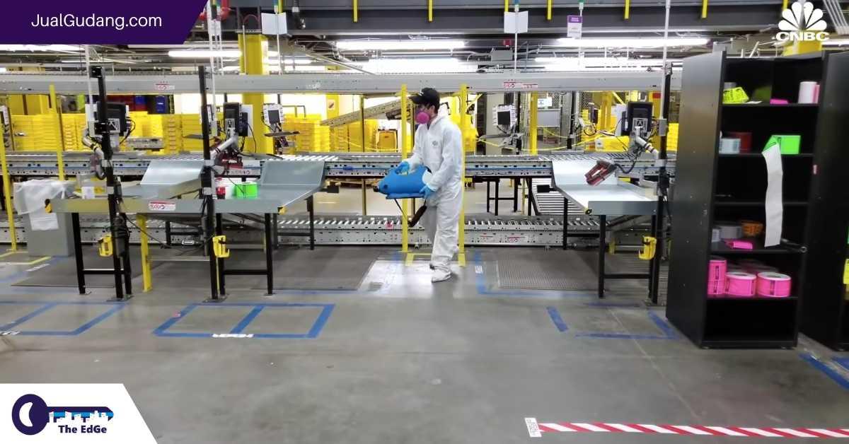 Seperti Apa Bekerja di Gudang Amazon Saat Pandemi Covid-19 - JualGudang