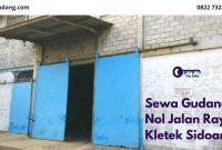 Sewa Gudang Nol Jalan Raya Kletek Sidoarjo - Listing - JualGudang