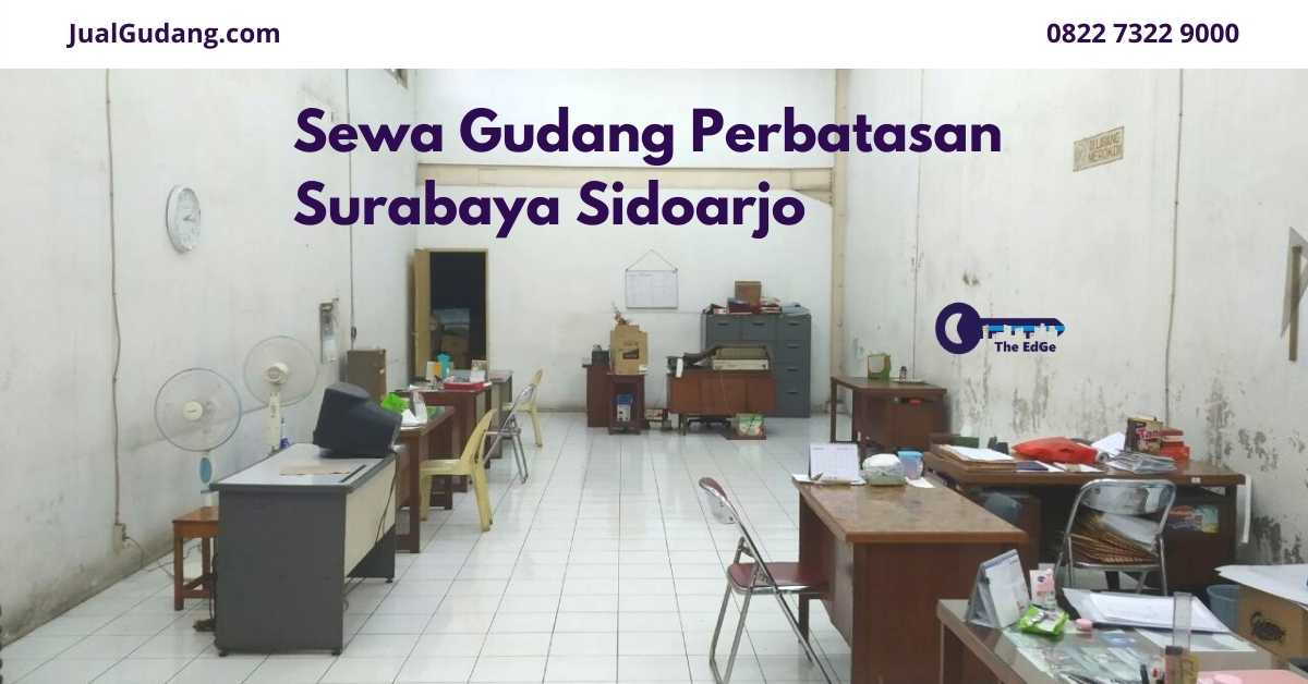 Sewa Gudang Perbatasan Surabaya Sidoarjo - Listing - JualGudang