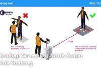 Teknologi Screening Jarak Aman Untuk Gudang - JualGudang