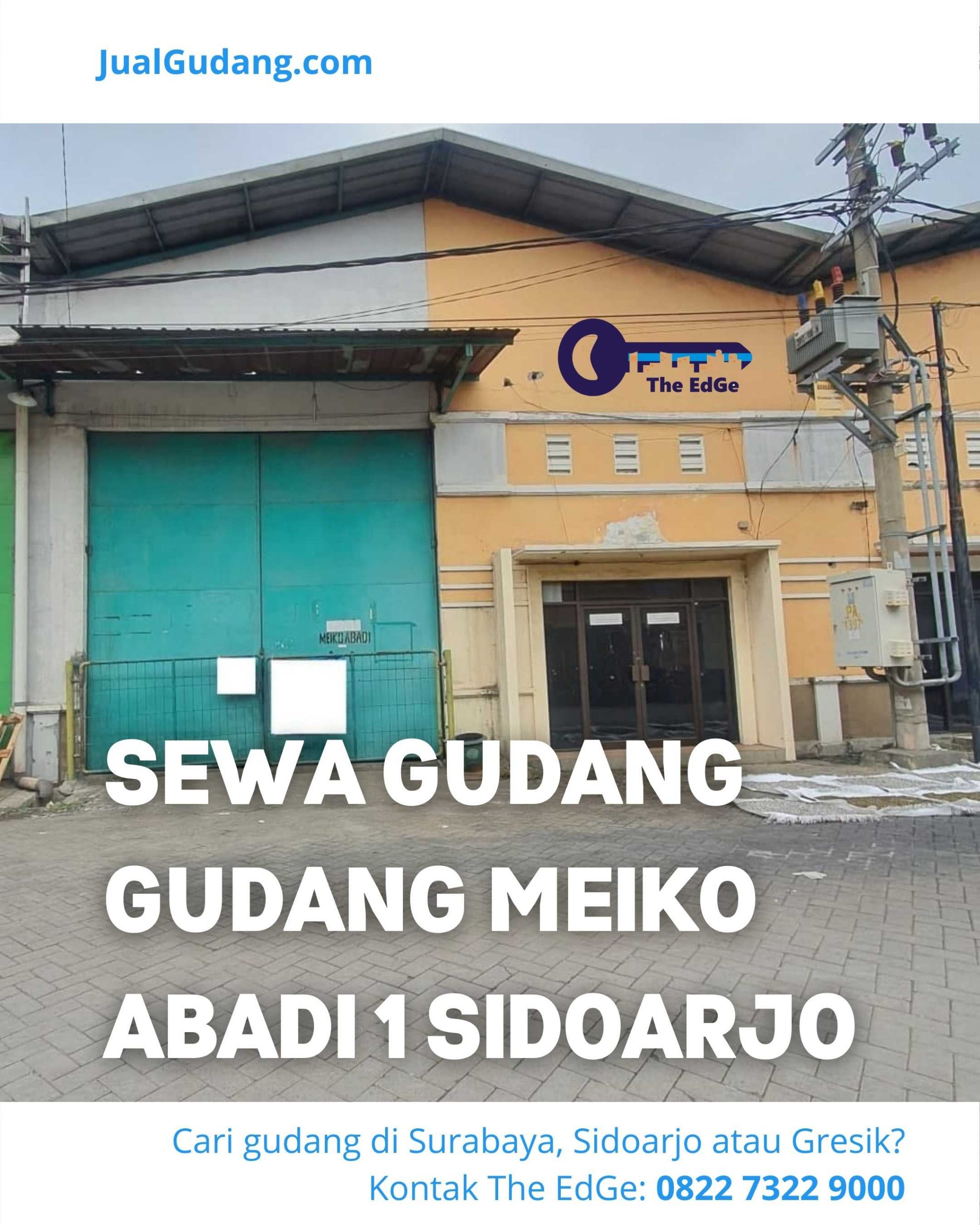 Sewa Gudang Gudang Meiko Abadi 1 Sidoarjo - JualGudang - IG