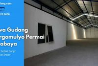 Sewa Gudang Margomulyo Permai Surabaya - JualGudang