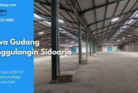 Sewa Gudang Tanggulangin Sidoarjo - JualGudang