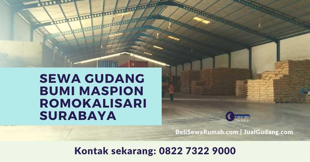 Sewa Gudang Bumi Maspion Romokalisari Surabaya - The EdGe
